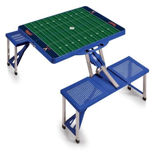 Virginia Cavaliers Sports Folding Picnic Table