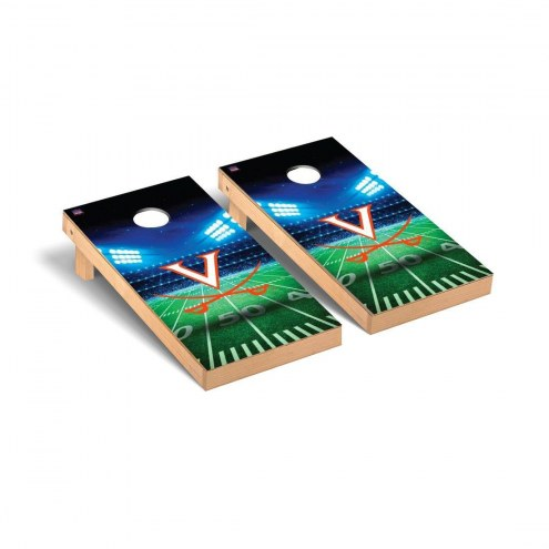 Virginia Cavaliers Stadium Cornhole Game Set