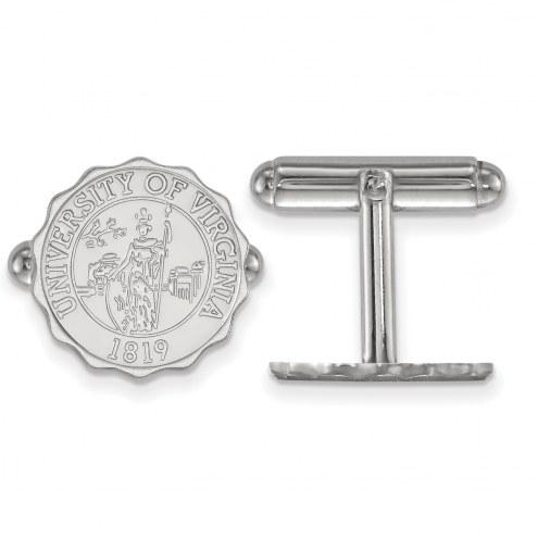 Virginia Cavaliers Sterling Silver Cuff Links