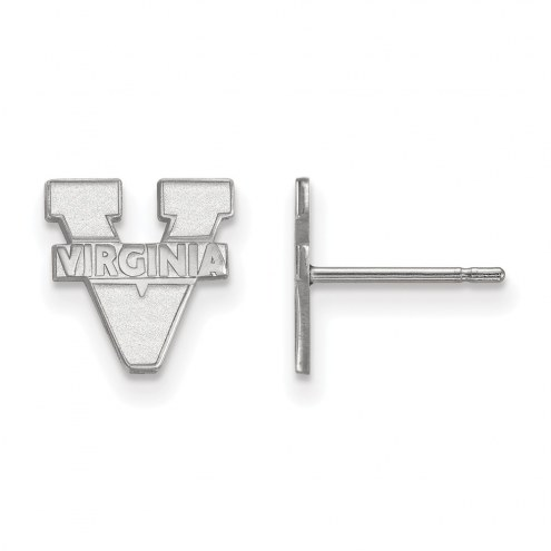 Virginia Cavaliers Sterling Silver Extra Small Post Earrings