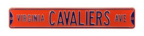 Virginia Cavaliers Street Sign