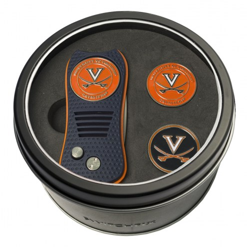 Virginia Cavaliers Switchfix Golf Divot Tool & Ball Markers