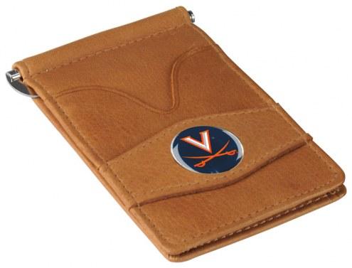 Virginia Cavaliers Tan Player's Wallet