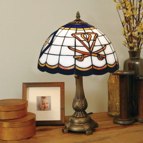Virginia Cavaliers Tiffany Table Lamp