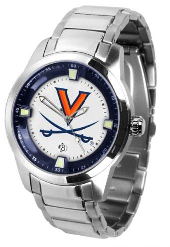 Virginia Cavaliers Titan Steel Men's Watch