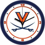 Virginia Cavaliers Traditional Wall Clock