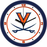 Virginia Cavaliers Traditional Wall Clock