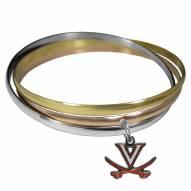 Virginia Cavaliers Tri-color Bangle Bracelet