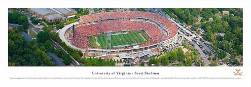 Virginia Cavaliers Unframed Panorama