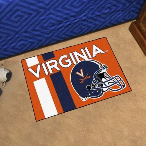 Virginia Cavaliers Uniform Inspired Starter Rug