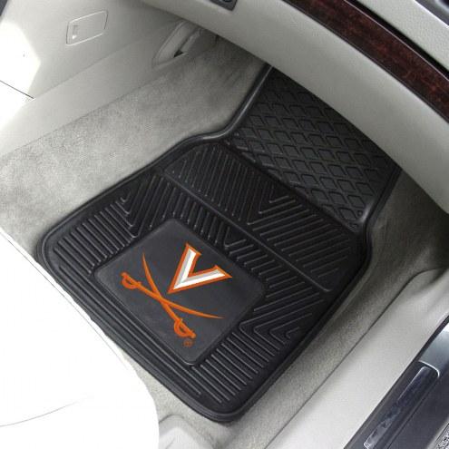 Virginia Cavaliers Vinyl 2-Piece Car Floor Mats