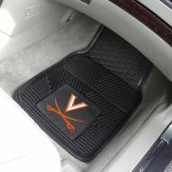 Virginia Cavaliers Vinyl 2-Piece Car Floor Mats