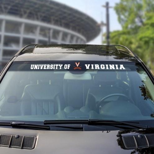 Virginia Cavaliers Windshield Decal