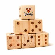Virginia Cavaliers Yard Dice
