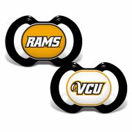 Virginia Commonwealth Rams Baby Pacifier 2-Pack