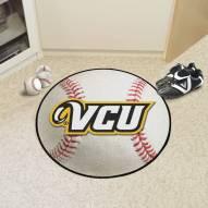 Virginia Commonwealth Rams Baseball Rug