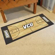 Virginia Commonwealth Rams Basketball Court Runner Rug