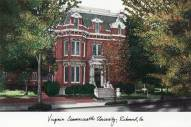 Virginia Commonwealth Rams Campus Images Lithograph
