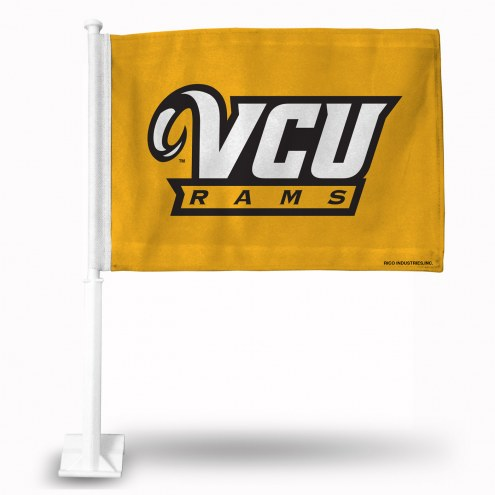 Virginia Commonwealth Rams College Car Flag