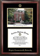 Virginia Commonwealth Rams Gold Embossed Diploma Frame with Lithograph