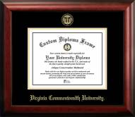 Virginia Commonwealth Rams Gold Embossed Diploma Frame