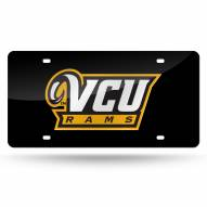 Virginia Commonwealth Rams Laser Cut License Plate