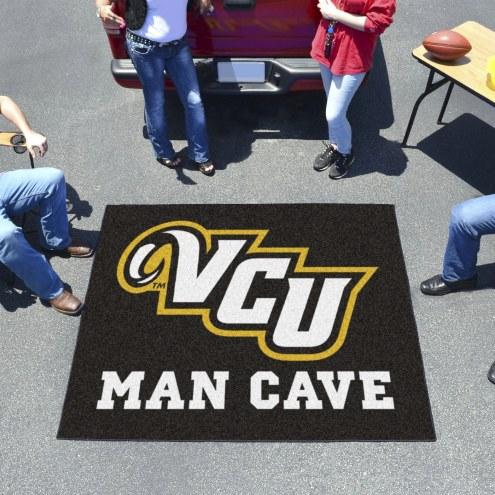 Virginia Commonwealth Rams Man Cave Tailgate Mat