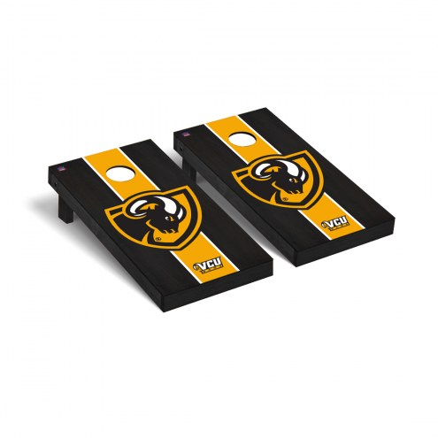 Virginia Commonwealth Rams Onyx Stained Cornhole Game Set