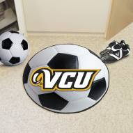 Virginia Commonwealth Rams Soccer Ball Mat