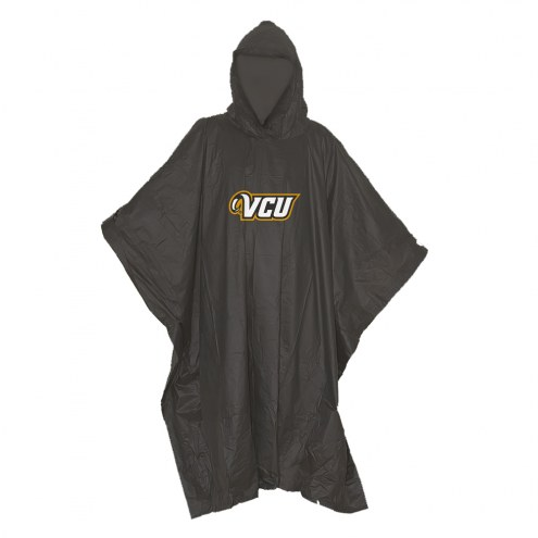 Virginia Commonwealth Rams Stormfront Lightweight Rain Poncho