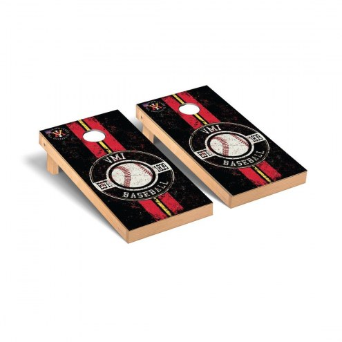 Virginia Military Institute Keydets Baseball Vintage Cornhole Game Set