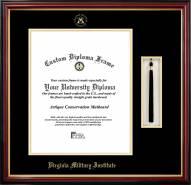 Virginia Military Institute Keydets Diploma Frame & Tassel Box