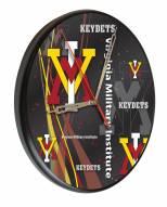 Virginia Military Institute Keydets Digitally Printed Wood Clock