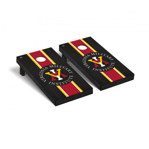 Virginia Military Institute Keydets Onyx Stained Cornhole Game Set