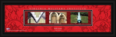 Virginia Military Institute Keydets Personalized Campus Letter Art