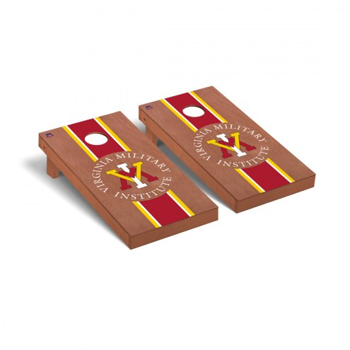 Virginia Military Institute Keydets Rosewood Stained Cornhole Game Set