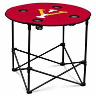 Virginia Military Institute Keydets Round Folding Table