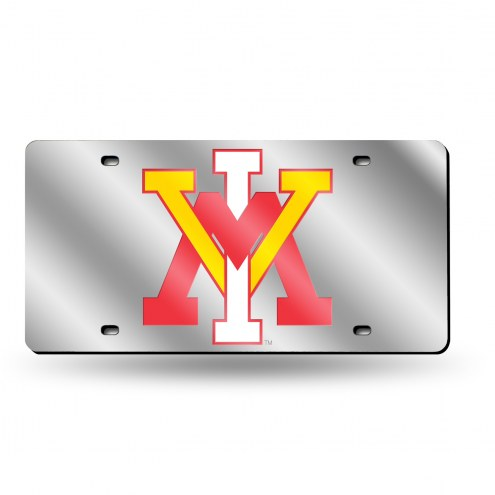 Virginia Military Institute Keydets Silver Laser Cut License Plate