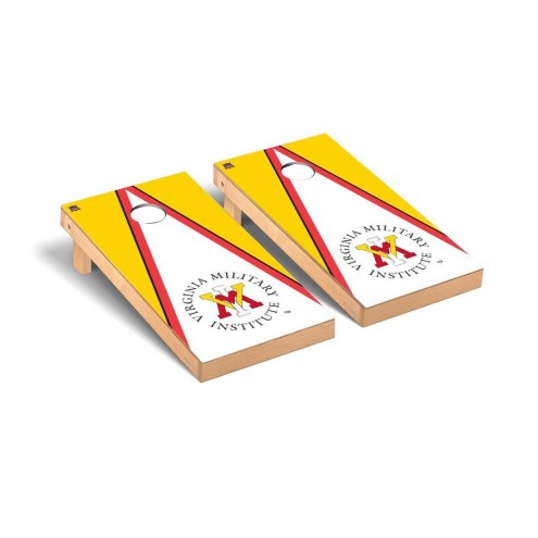 Virginia Military Institute Keydets Triangle Cornhole Game Set