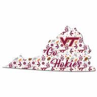 "Virginia Tech Hokies 12"" Floral State Sign"