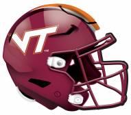 "Virginia Tech Hokies 12"" Helmet Sign"
