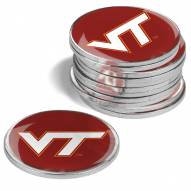 Virginia Tech Hokies 12-Pack Golf Ball Markers