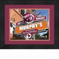 Virginia Tech Hokies 13 x 16 Personalized Framed Sports Pub Print
