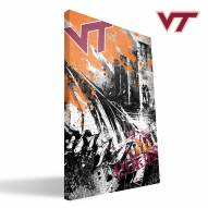"Virginia Tech Hokies 16"" x 24"" Spirit Canvas Print"