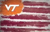 "Virginia Tech Hokies 17"" x 26"" Flag Sign"