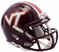 Virginia Tech Hokies Riddell Speed Mini Collectible Football Helmet