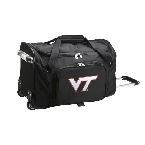 "Virginia Tech Hokies 22"" Rolling Duffle Bag"