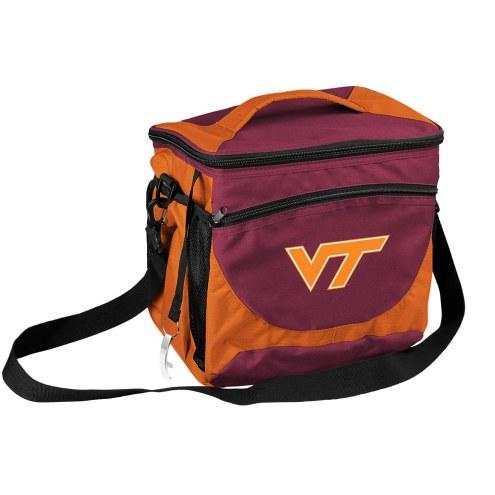 Virginia Tech Hokies 24 Can Cooler
