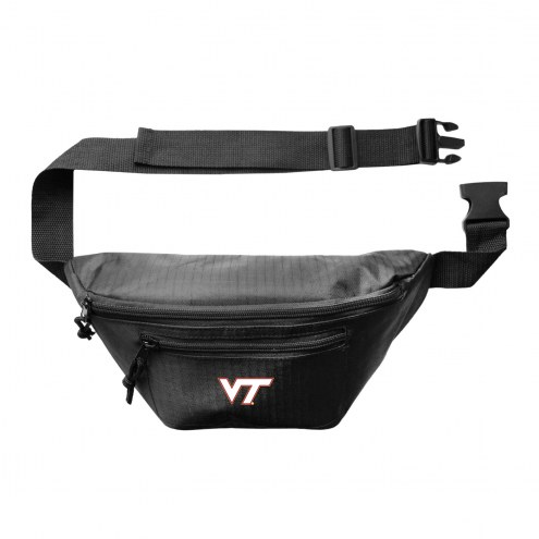 Virginia Tech Hokies 3-Zip Hip Fanny Pack