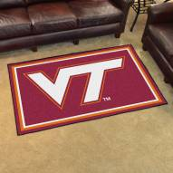 Virginia Tech Hokies 4' x 6' Area Rug